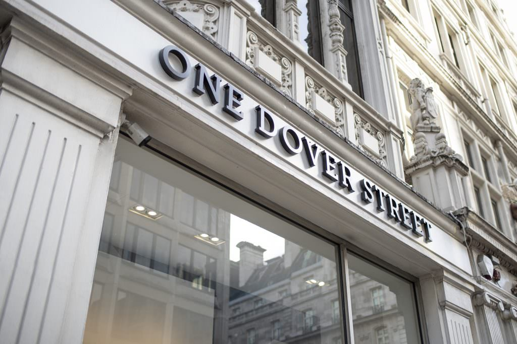 One Dover Street facade